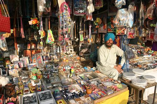 Sikh Shopkeeper